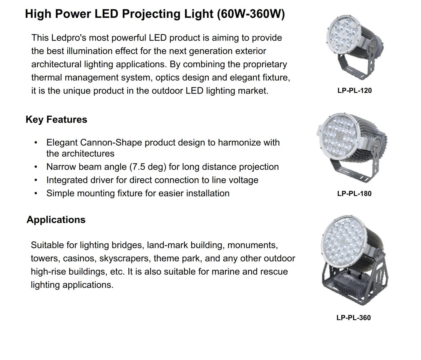 Projector LED 1A